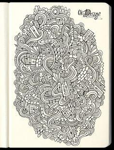 40 Stunning Doodles for Inspiration | Vandelay Design Blog