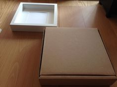25 x 25 x 4 5cm Cardboard Packaging Postal Box for IKEA Deep Picture Frame Etc | eBay
