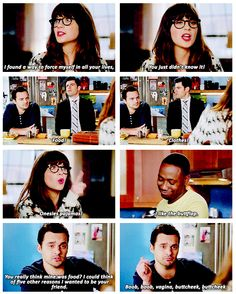 i found a way to force myself in all your lives, you just didn't know it! {gif} #newgirl