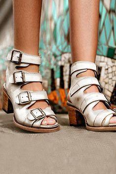 12e574693c5 Open Toe High Heel Buckle Sandals