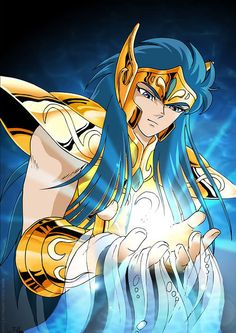 Saint Seiya - Gold Saint Aquarius Camus