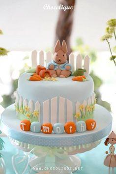 Peter Rabbit Themed 1st Birthday Party with Full of Really Cute Ideas via Kara's Party Ideas | KarasPartyIdeas.com #PeterRabbit #BeatrixPott...