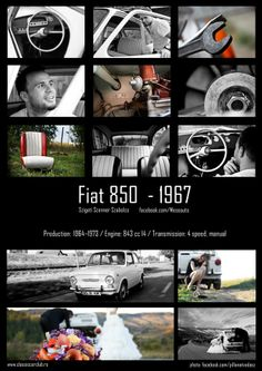 fiat850 Fiat 850, It Works, My Life, Nice, Movies, Movie Posters, Photography, Photograph, Film Poster