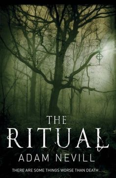 50 Scariest Books of All Time: The Ritual by Adam Nevill. Campers in the woods is a pretty standard horror convention, sure, but this version is guaranteed to give you the creeps. You'll rush to the finish — in a warm, well-lit place, of course. Books And Tea, I Love Books, Good Books, Books To Read, My Books, Reading Lists, Book Lists, Horror Books, Reading Rainbow