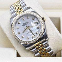 Rolex Date Jast Steel& Gold 33mm Mother of Pearl Dial & Orginal Bezel Diamond Brand New With The Box & Paper #Available Call & WhatsApp : 00971508059880 _ _ _ _ _ _ _ _ _ _ _ _ _ _ _ _ _ _ _ _ _ _  #mydubai #dubai #burjkhalifa #burjalarb #dubaimall #dubaifashion #dubailife #luxury #luxurylife #luxurywatch #vancleefarpels #american #selfie #kuwait #qatar #sudiarabia #india #sharjah #ajman#rolex #chopard #omega #cartier #nautilus #iwcwatches #panerai #daytona by albadia_jewellery #panerai
