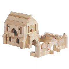 Haba Medieval Castle World Architecture Blocks - Homeschool - Middle Ages unit -  #oompatoys #habausa