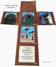 Recursos para Ministério Infantil: RECURSO PARA PASCOA 1, Books, Kids, History Of Easter, Bible Stories For Children, Teaching Ideas, Kids Ministry, Belle, Amor