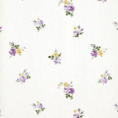 Virginia. Papel de estilo floral liberty en tonos pastel para ambientes romántico sobre superficie lisa #decoration #flowers #homedecor