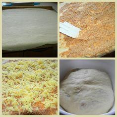 SUROVINY : 1 kg hladkej múky špeciál 2 dl oleja 3 pol. lyž. soli 2 žĺtka 10 g droždie sušené 0,5 lit. vlažné mlieko 25 dkg po... Mashed Potatoes, Bread, Ethnic Recipes, Food, Whipped Potatoes, Smash Potatoes, Eten, Bakeries, Meals