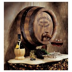 Found it at Wayfair - French Wine Barrel Wall Sculpture in Brownhttp://www.wayfair.com/daily-sales/p/Wine-Bar-at-Home-French-Wine-Barrel-Wall-Sculpture-in-Brown~TXG6203~E14080.html?refid=SBP.rBAZKFP4y_pM8h00DOpGArWwh9_TcUZYr0nleQ1Y5xc