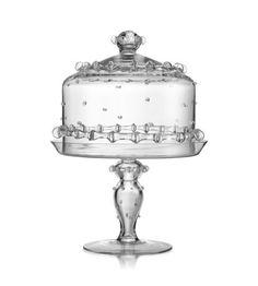 Juliska - Harriet Medium Cake Dome & Pedestal