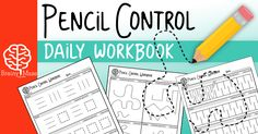 30 Skill Sheets for students to build prewriting skills. Students practice strokes and squiggles, pictures, and mazes! This is a fun set for Tots and PreK Preschool Curriculum, Preschool Learning, Preschool Activities, Homeschooling, Kindergarten Readiness, Learning Time, Time Activities, Preschool Classroom, Classroom Ideas