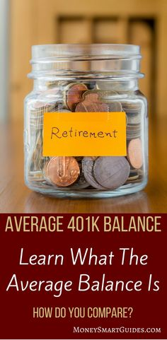 Are you curious to know if you are saving enough for retirement? Want to know what the average plan balance by age is? I did the research to find out and present it all in this post. Click through to see where you stand compared to your co-workers plan. Saving For Retirement, Early Retirement, Retirement Planning, Ways To Save Money, Money Saving Tips, How To Make Money, Money Tips, Saving Ideas, 401k Plan
