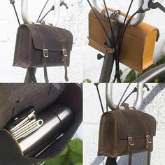 BROMPTON Custom Handcrafted Leather Handlebar Casket
