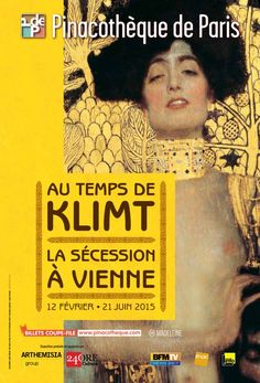 Au temps de Klimt, la Sécession à Vienne. Paris, la Pinacothèque. Du 12 février au 21 juin 2015.