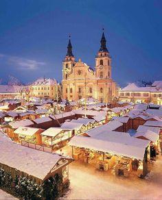 Marché de Noël à Ludwigsbourg, Bavière, Allemagne (Christmas market in Ludwigsburg, Bavaria, Germany)