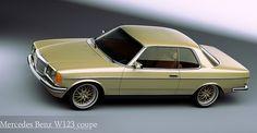 W 123 coupe Mercedes Benz Coupe, Mercedes Benz World, Mercedes E Class, Mercedes Benz Cars, M Benz, Classic Mercedes, 3d Studio, Old Models, Dream Cars