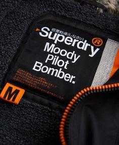 Superdry Moody Pilot Bomber Jacket