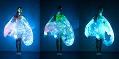 Wearable Technology-Phillips LED Dress