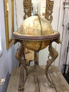 Antique World Globe - $995