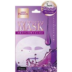 JGbeauty Gals pure 5 Essence Mask (PL) 30pcs placenta premium face mask JAPAN