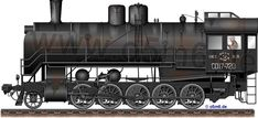 Engines of the Red Army in WW2 - Russian SO17 1-5-0 Steam Locomotive