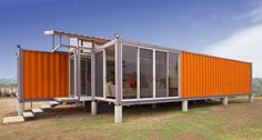 Made from shipping containers