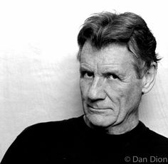 Portrait of comic actor Michael Palin by photographer Dan Dion.