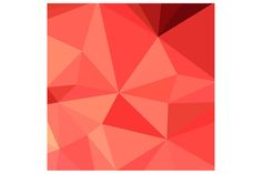 Portland Orange Abstract Low Polygon Background. Low polygon style of portland orange abstract geometric background.The zipped file includes editable vector EPS, hi-res JPG and PNG image. #LowPolygonAbstract  #PortlandOrange