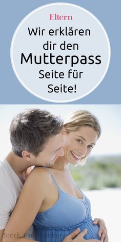 Was wird in den Mutterpass eingetragen? Was bedeuten die medizinischen Fachausdr… What is entered in the maternity record? What do the medical terms mean? We'll explain you the passport – side by side. Baby Massage, Mom And Baby, Baby Love, Baby Baby, First Trimester, Pregnant Mom, First Time Moms, Baby Sleep, Breastfeeding
