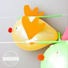rudolf balloon race physics square