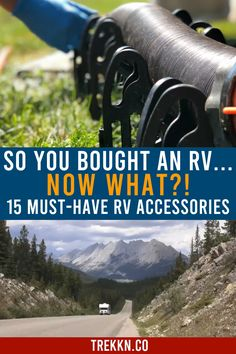 15 Must-Have RV Accessories for Sewer, Water and Electric - Wohnwagen Camping Hacks, Truck Camping, Camping Life, Rv Life, Camping Gear, Camping Supplies, Camping Essentials, Tent Camping, Camping Stores