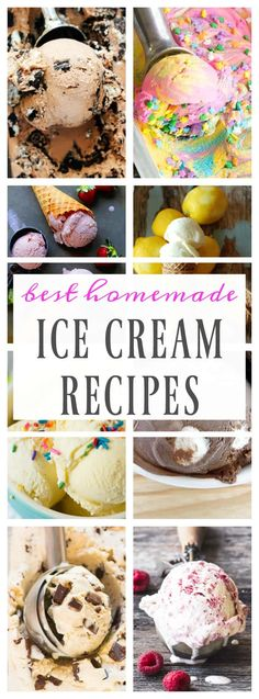 BEST HOMEMADE ICE CREAM RECIPES that will make your summer time a little sweeter, tastier and downright cooler. Go ahead a lick your screen, it's completely normal. {wink, wink} Nothing beats the summer heat like ice cream, am I right? Every night in the summer my family & love cooling down with ice cream. Even …