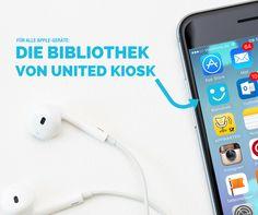 JUHU! Endlich ist sie da: Unsere Bibliothek als App für Apple-Geräte. Einfach mit E-Mail & Passwort (wie in der Bibliothek unter United-Kiosk.de im Browser) anmelden und gleich loslesen: https://itunes.apple.com/de/app/united-kiosk-bibliothek/id1079467298