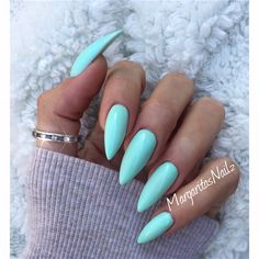 Mint Green by MargaritasNailz