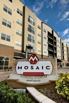 Luxury Apartment homes in Westshore, Tampa, Florida Tampa Florida, Luxury Apartments, Bedroom Apartment, Mosaic, Multi Story Building, Tours, Home, House, Ad Home