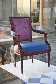 'L'Artesanía de Vivir' by Roche Bobois | Lully Armchair designed by Roche Bobois Studio | Mexico 2016
