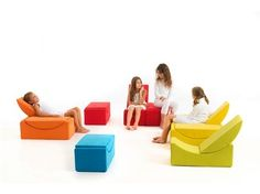 Uberlegen Sectional Modular Kids Armchair MOON SMALL   LINA Design D.o.o. Kids  Armchair, Kids Sofa,