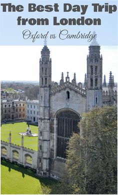 After a year in Cambridge and a day in Oxford, here our best attempt at an unbiased comparison between the two! Plus, all the awesome things to do when visit each town!
