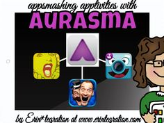 AppSmashing Apptivities with Aurasma, Mad Lips, ChatterPix, and iFunFace by Erin Flannagan