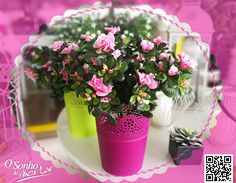AZALEA (planta artificial)