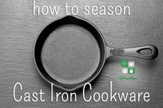 It is important to season cast iron pans to create a finish that naturally prevents sticking and to maintain them for a lifetime of use. Lodge Cast Iron, Cast Iron Pot, Cast Iron Skillet, Cast Iron Cooking, Cast Iron Cookware, It Cast, Cast Iron Care, Seasoning Cast Iron, Wellness Mama