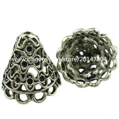 Wholesale cheap tassel cap online, jewelry findings type - Find best 19049 8pcs vintage silver hollow wind line tassel end cap filigree retro jewelry at discount prices from Chinese bead caps supplier - gongheng on DHgate.com.