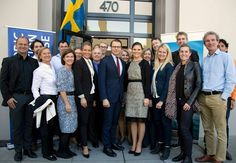 Nordic Innovation House when H.R.H. Crown Princess Victoria and H.R.H. Prince Daniel Silicon Valley USA 1/21/2015