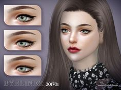 Eyeliner for pretty women, 4 styles include, enjoy ! Found in TSR Category 'Sims 4 Female Eyeliner'