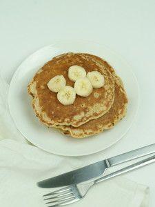 フライパンで作るかんたんグルテンフリーレシピ。バナナパンケー