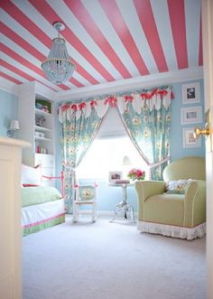 Striped Ceiling...♥