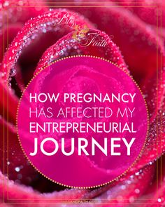 I'm sharing today, exactly how my current pregnancy has affected my entrepreneurial journey. I'll be discussing the ups and downs, trials and tribulations, and my overall experience with pregnancy and entrepreneurship in the most transparent way that I can. | BlissandFaith.com