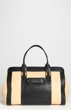 Chloé 'Alice Large' Leather Tote