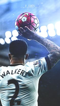 Kyle Walker mobile wallpaper Football Is Life, World Football, Football Soccer, Football Players, Manchester City Wallpaper, Tottenham Football, Kyle Walker, Tottenham Hotspur Fc, English Premier League